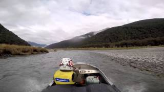Haast New Zealand  city photos : Jetboating the Clarke river, Haast, New Zealand