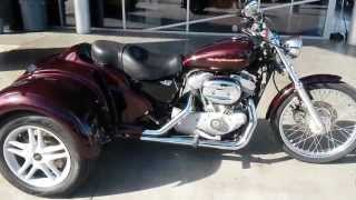 10. 2005 Harley Davidson Sportster 883 California Sidecar Trike at Indian Motorcycle Las Vegas - UL8571