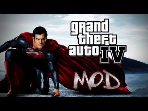 Homem de Aço - GTA IV MOD