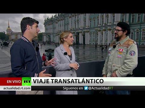 Hinchas brasileños llegan hasta Rusia en un Volkswagen 'Escarabajo' (VÍDEO)