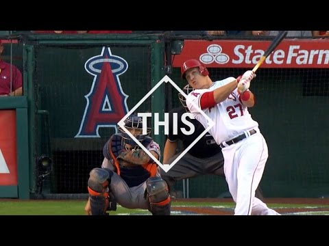 Video: #THIS: Trout records career home run No. 100