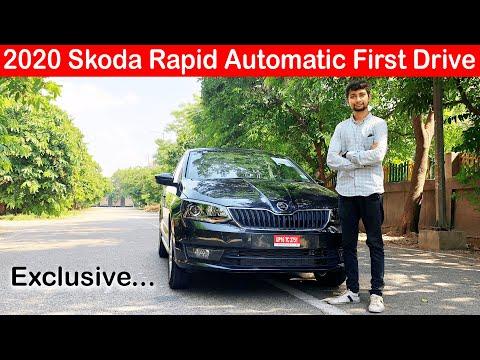 2020 Skoda Rapid Automatic 1.0L TSI Torque Convertor First Drive Impression l Aayush ssm 🔥