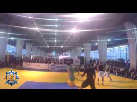 Финальная игра турнира ''USL 3x3 Megogo'' (Киев)