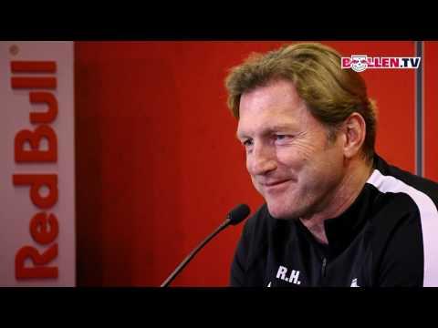 RB Leipzig: Pressekonferenz vor dem Heimspiel gegen B ...
