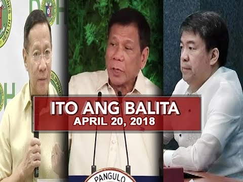 UNTV: Ito Ang Balita (April 20, 2018)