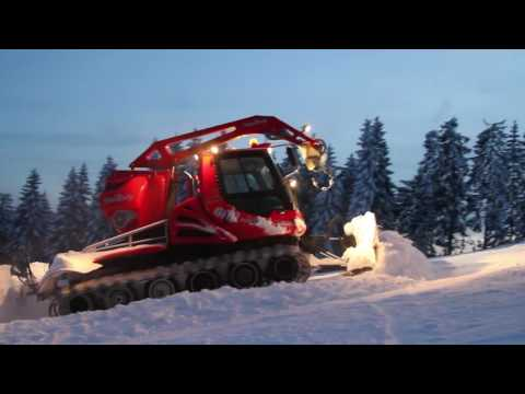 Pistenpräparation im Skiliftkarussell Winterberg