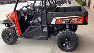 7. 2019 Polaris Ranger XP 900 EPS - Orange Madness