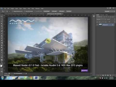 Video tự học Photoshop căn bản bài 01