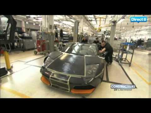Les Constructeurs de l'Extreme - Lamborghini Murcielago. Partie 1.
