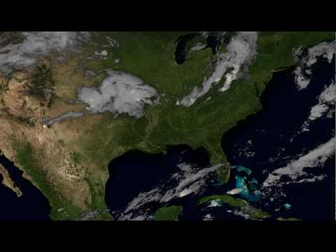 Πώς φαίνονται οι κεραυνοί από το διάστημα