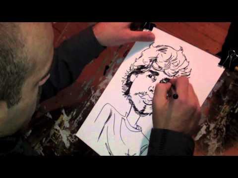 Wie zeichnet man eine Karikatur?