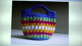 FREE WRITTEN PATTERN - Cluster Stitch Bag