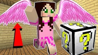 Minecraft: ANGEL LUCKY BLOCK!!! (ANGEL WINGS, HOT TUB, & MORE!) Mod Showcase