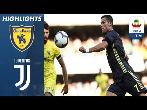 Chievo 2-3 Juventus | Late VAR controversy as Ronaldo makes debut | Serie A (видео)