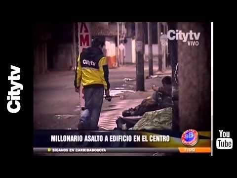 Citytv: Millonario asalto a edifcio del centro (видео)