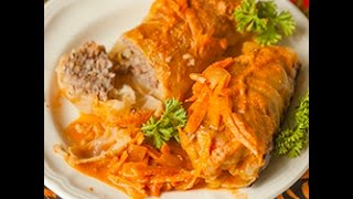 Videoricetta: involtini di verza, riso e carne