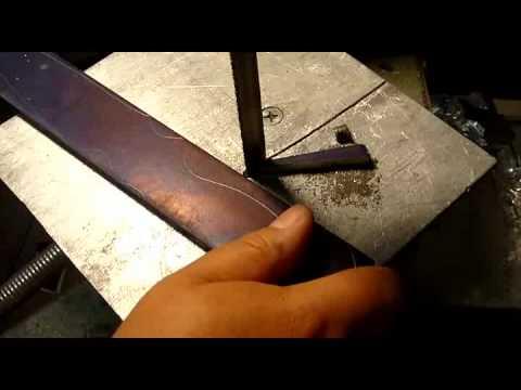 Изготовление ножа часть 1