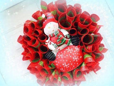 Holly Jolly Christmas Series Ep 18 Loopty Loop Wreath Geo-Poly Mesh Style
