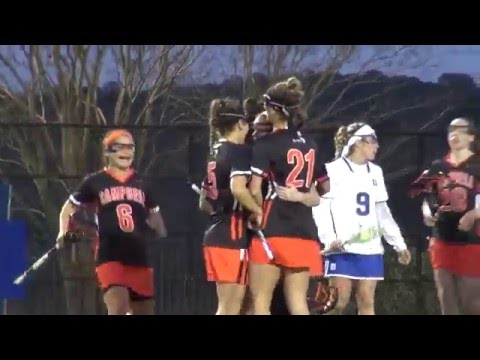 Campbell LAX vs. Duke