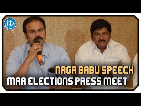 We Support Rajendra Prasad : Nagababu | MAA Elections 2015 Press Meet