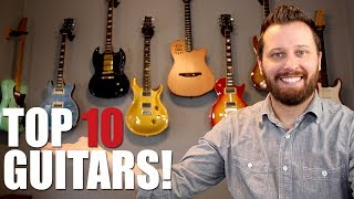 Video Top 10 Guitars In My Collection! MP3, 3GP, MP4, WEBM, AVI, FLV Juli 2018