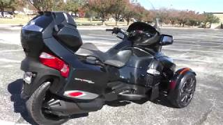 6. 007901   2014 Can Am Spyder RT S SE6
