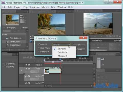 Создание стоп-кадра в Adobe Premiere Pro CS4 - игровое видео смотреть онлайн на ZadrotTV.ru