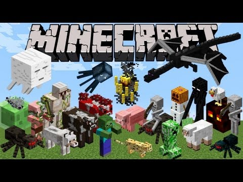 Minecraft Zoo - Every Monster & Animal! (Intro)