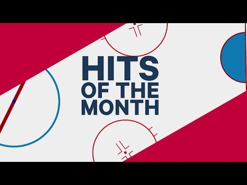 Video: February's Hits of the Month: McDavid collides with teammate