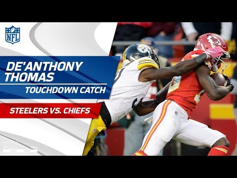 Video: De'Anthony Thomas' End Zone Flip for 57-Yd TD from Alex Smith! | Steelers vs. Chiefs | NFL Wk 6