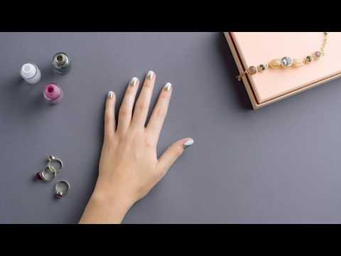 Manicure Geométrico