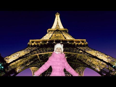 Отдых в Париже.  Как Мисс Кри отдыет в Париже
