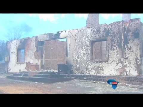 Brande saai verwoesting / Fires wreak havoc