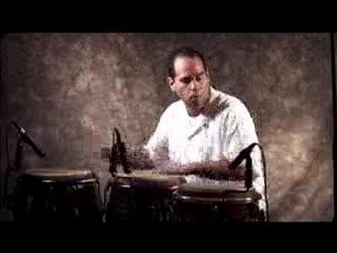 Javier Diaz, percussionist from Cuba. Explorat~