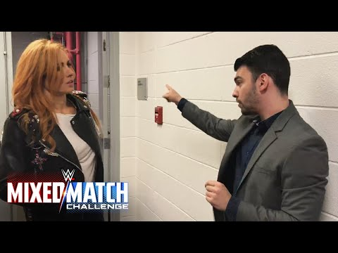 Becky Lynch gets stopped by security one week before competing on WWE Mixed Match Challenge