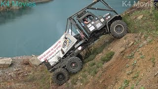 6X6 truck with number 701. Truck trial. Tegau, Germany 2017 Subscribe to my channel for more videos to come...