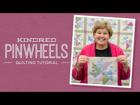patchwork - blocco kindered pinwheels
