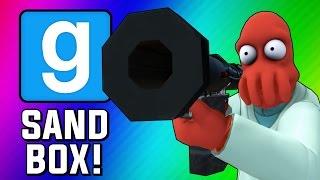 Gmod Sandbox Funny Moments - Fish Tank, Wii Sports, Trippy Maps, Crazy Bombs! (Garry's Mod)