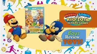 The boys have been extra good this summer and Dad decided they deserve the new Mario Sonic Rio Olympic Games.  Check out the big surprise they got on release day and see them play their favorite levels!