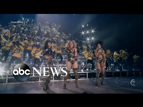 Beyonce and Destiny's Child reunites in Coachella