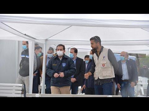 Νότης Μηταράκης στη Μόρια: Απαιτείται περισσότερη εγρήγορση στη β' φάση λόγω COVID-19…