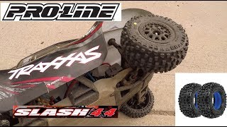 Traxxas Slash 4x4 running new Proline Badlands SC tyres on Desperado rims. This is just a fun bash video running the SCT on 3s lipo. I've not filmed close to a road before, I think most of the motorists couldn't believe their eyes. Please remember the RC hobby is not a huge sport in the UK. Enjoy everyone!This video is in a series of Traxxas Slash 4x4 adventure videos which can be found here: https://www.youtube.com/playlist?list=PLXw8lBDqbFIKNpA1FqguZv4wUkKwRy_OkThe Traxxas Slash family is a fantastic platform for stability, strength, durability and power. This video is marking over 35,000,000 million video views at the time of filming.If you wish to see the famous Traxxas Slash 4x4s Mud Bogging video please click here: 23M views people!https://www.youtube.com/watch?v=JJ087K-YVbwThanks for watching, please like, subscribe, and share these videos and I'll see you next time.Jake Billing's Facebook Page Here: https://www.facebook.com/jakebillingonyoutube/