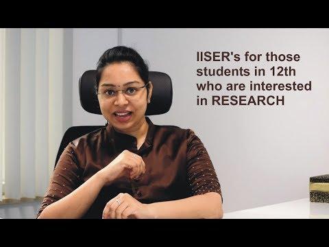 IISER | Career Planning - English | Sreevidhya Santhosh