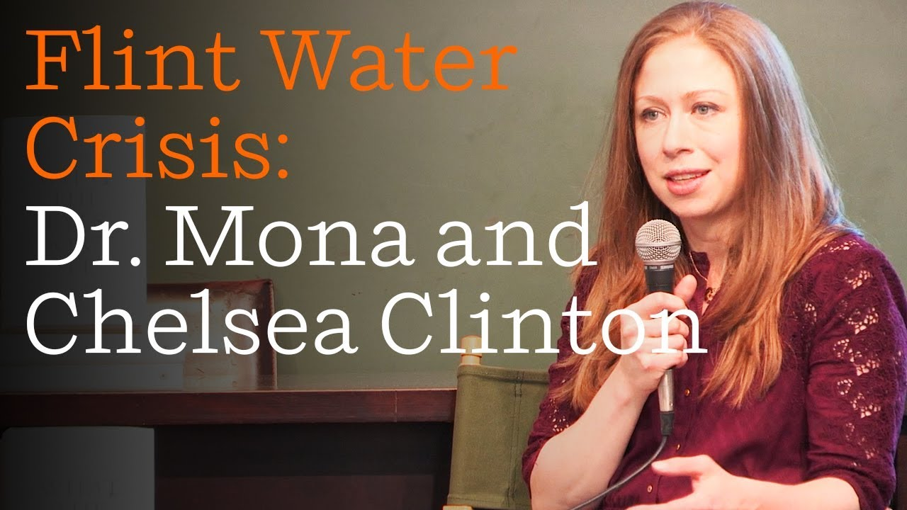 Dr. Mona Hanna-Attisha and Chelsea Clinton Discuss the Flint Water Crisis