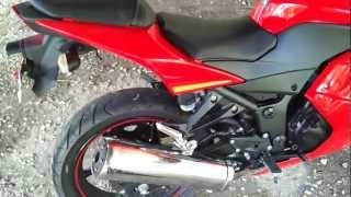9. 2009 ninja 250r walkaround and review