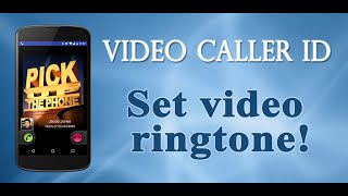 Video Caller Id YouTube video