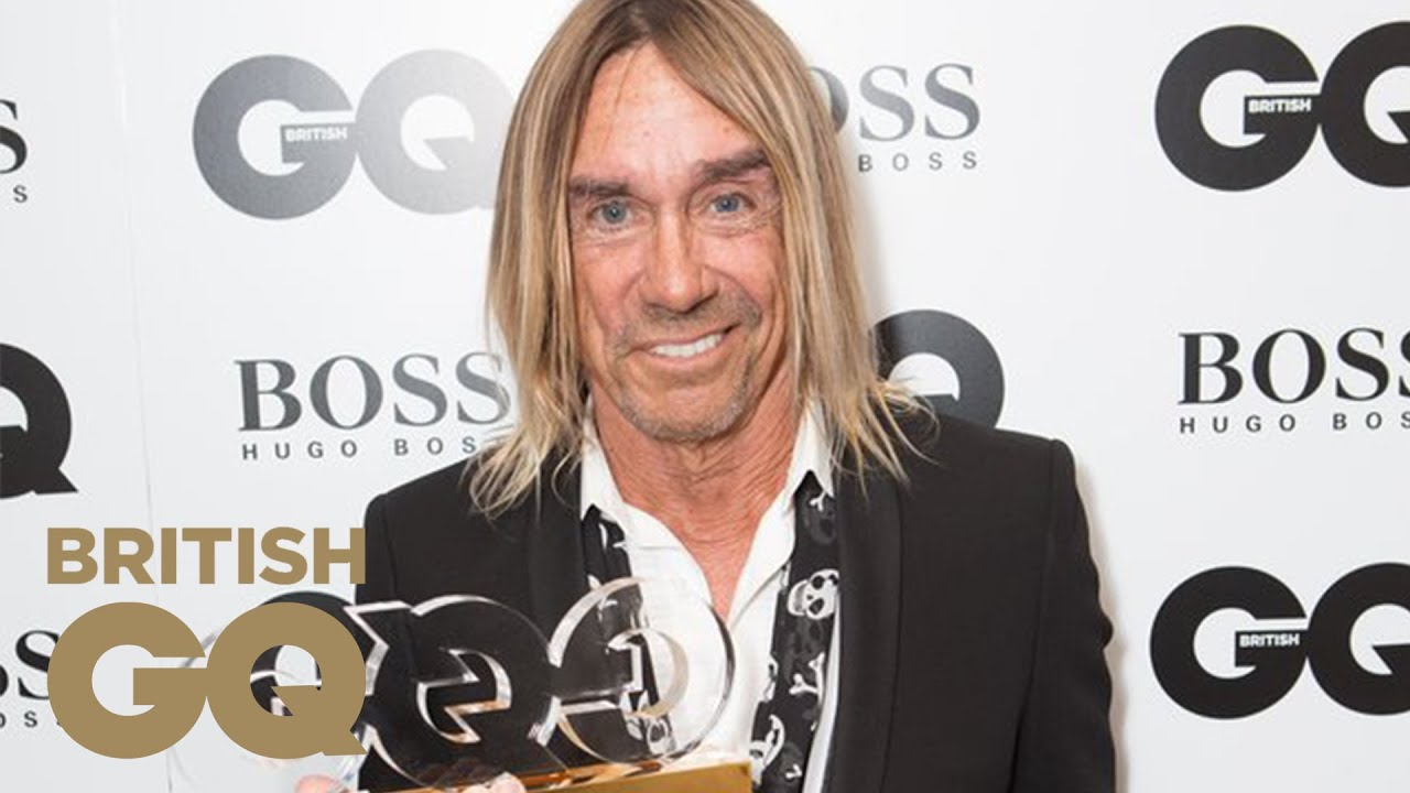 ASK iAN . Iggy Pop: Icon | GQ Men Of The Year Awards 2014