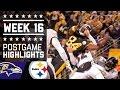 #2 Ravens vs Steelers | NFL Week 16 Christmas Game Highlights