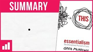 """Learn how to focus on the essential in this animated book summary of Essentialism: The Disciplined Pursuit of Less by Greg McKeown. Produced by Adam from Homemade Entrepreneur.Subscribe to Homemade Entrepreneur ► https://www.youtube.com/user/MillionairesQuest★★★ NOW WATCH ★★★How to Stop Worrying and Start Living ► https://www.youtube.com/watch?v=Ria1t15XgGw7 Lessons From 179 Books ► https://www.youtube.com/watch?v=8lLesO2FEHg★★★ BE A LAD ★★★Subscribe to Become OnePercentBetter ► http://bit.ly/1Wvllz8★★★ WHAT SOFTWARE DO I USE? ★★★VideoScribe - Get it here ► http://www.sparkol.com?aid=1371302★★★ WANT TO READ MORE IN LESS TIME? ★★★Get Blinkist - 1,800+ best-selling nonfiction books, transformed into powerful shorts you can read or listen to in just 15 minutes ► http://jump.blinkist.com/SHX3-~-~~-~~~-~~-~-Please watch: """"The 50th Law by Robert Greene and 50 Cent ► Book Summary"""" https://www.youtube.com/watch?v=66NKywmi0Zs-~-~~-~~~-~~-~-"""