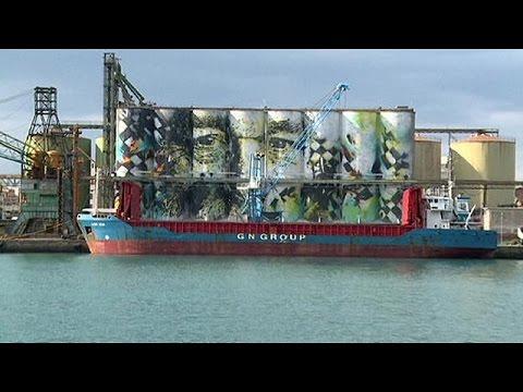 Κατάνια: Το μεγαλύτερο γκράφιτι στον κόσμο